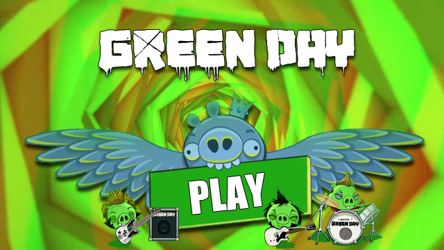 Angry Birds Green Day