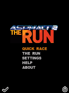 Asphalt 2 The Run (Beta) скриншот №1