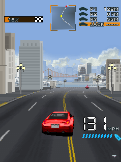 Asphalt 2 The Run (Beta) скриншот №3