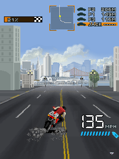 Asphalt 2 The Run (Beta) скриншот №4