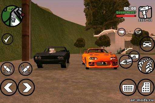 Gta san andreas first person driving for android (beta) mod.