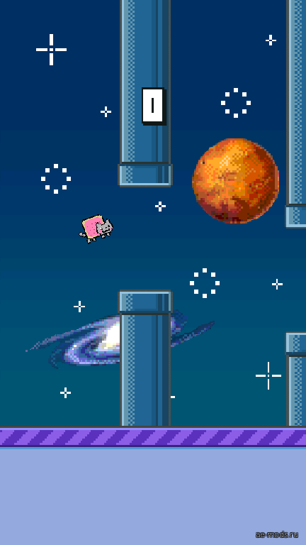 Flappy Nyan Cat скриншот №1