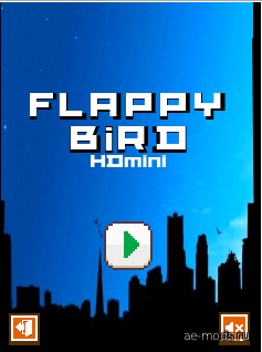 Flappy bird HDmini (lite) скриншот №1