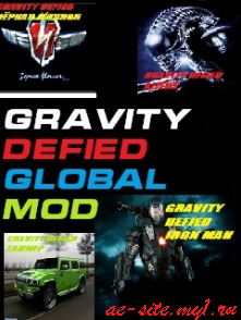 Gravity Defied Global Mod
