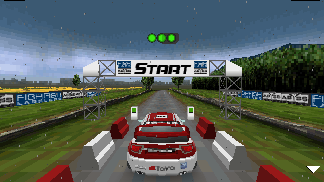 Rally Master Pro touch