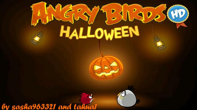 Angry Birds Halloween S60v5 mod